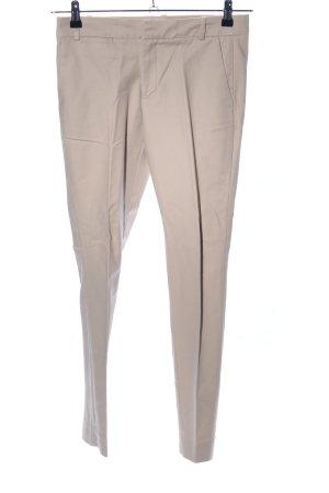 Zara Basic Pantalón de vestir crema look casual