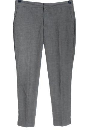 Zara Basic Suit Trouser black-light grey allover print casual look