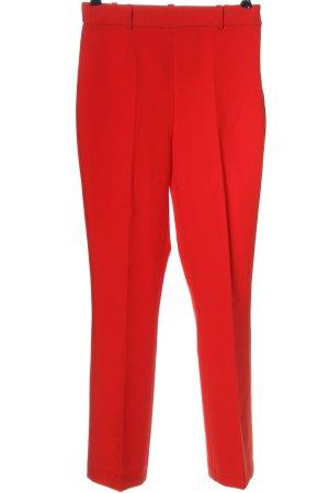 Zara Basic Anzughose rot Business-Look