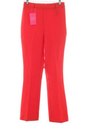 Zara Basic Anzughose hellrot schlichter Stil