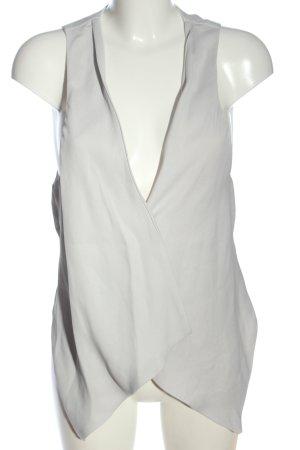 Zara Basic Waistcoat white casual look