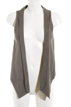 Zara Basic Anzugweste graubraun Elegant