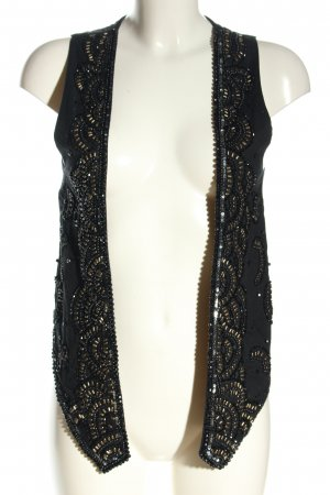 Zara Basic Gilet de costume noir élégant