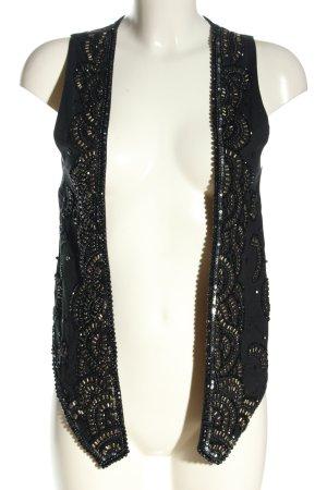 Zara Basic Waistcoat black elegant