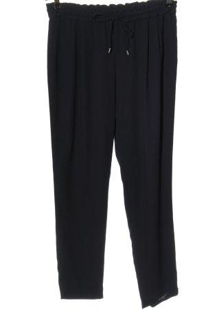 Zara Basic Pantalone largo nero elegante