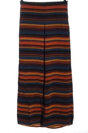 Zara Basic Baggy Pants striped pattern elegant