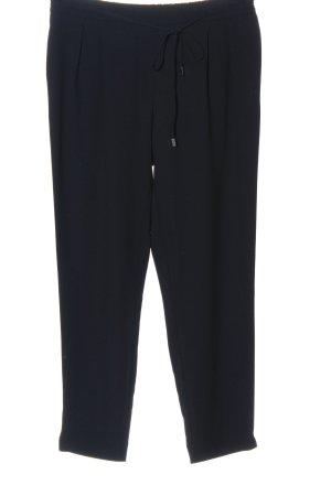Zara Basic Pantalone largo nero stile casual