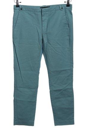 Zara Basic Pantalon «Baggy» bleu style décontracté