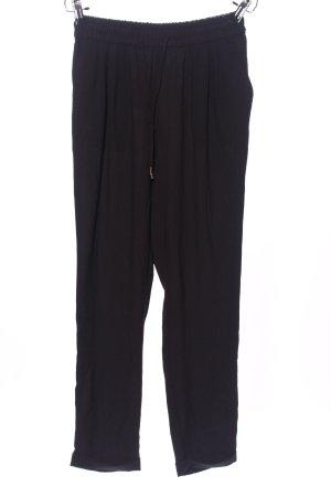 Zara Basic Pantalon «Baggy» noir style décontracté