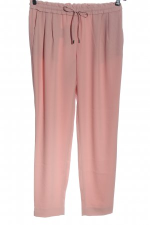 Zara Basic Pantalone largo rosa stile casual