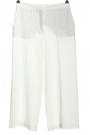 Zara Basic Baggy Pants weiß Casual-Look