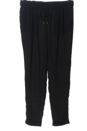 Zara Basic Baggy broek zwart casual uitstraling