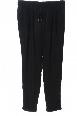 Zara Basic Pantalón abombado negro look casual