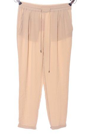 Zara Basic Pantalon «Baggy» rose chair style décontracté