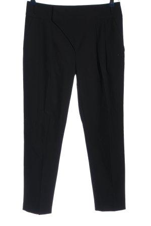 Zara Basic Pantalone largo nero stile professionale