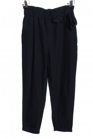 Zara Basic Baggy Pants blau Casual-Look