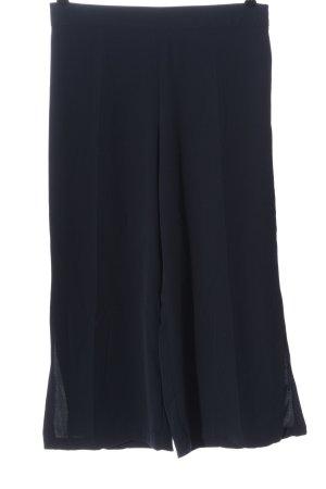 Zara Basic Pantalone largo blu stile casual