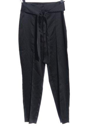Zara Basic Baggy broek zwart zakelijke stijl
