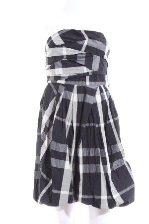 Zara Basic Ballonkleid Karomuster Casual-Look