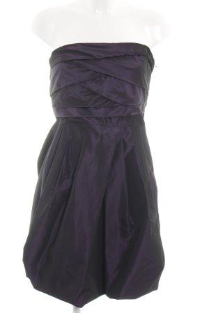 Zara Basic Ballonkleid lila Elegant