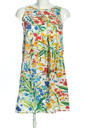 Zara Basic Robe ballon imprimé allover style décontracté