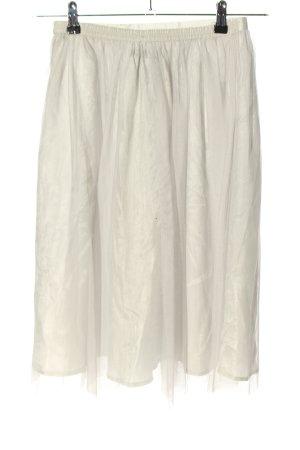 Zara Basic Ballonrok wit casual uitstraling