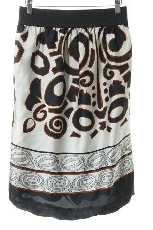 Zara Basic Ballonrock grafisches Muster