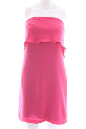 Zara Basic Bandeaukleid pink Casual-Look