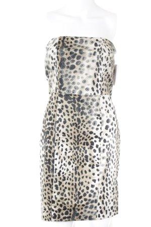 Zara Basic Bandeaukleid Leomuster Street-Fashion-Look
