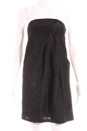 Zara Basic Bandeaukleid schwarz Elegant