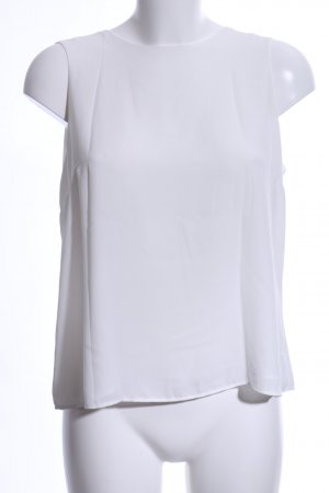 Zara Basic Basic Top weiß Business-Look