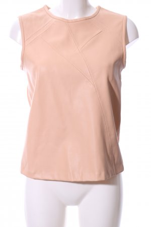 Zara Basic Basic Top nude Elegant