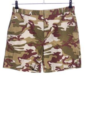 Zara Basic Bermuda Camouflagemuster Casual-Look