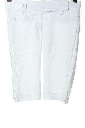 Zara Basic Bermuda wit casual uitstraling