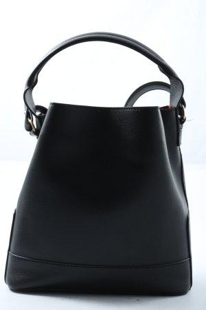 Zara Basic Beuteltasche schwarz Elegant
