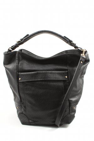 Zara Basic Borsellino nero stile casual