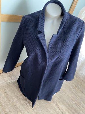 Zara Basic Blazer dunkelblau Navy L 40 Jackett Jacke