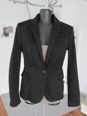 Zara Basic Blazer in jersey nero
