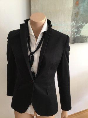 Zara Basic Blazer m schwarz 36/38 S Jacke