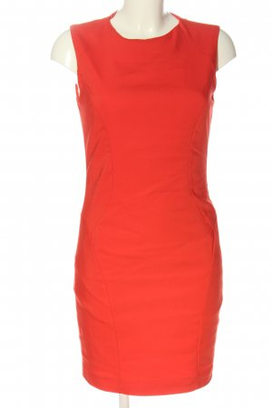 Zara Basic Abito longuette rosso stile professionale