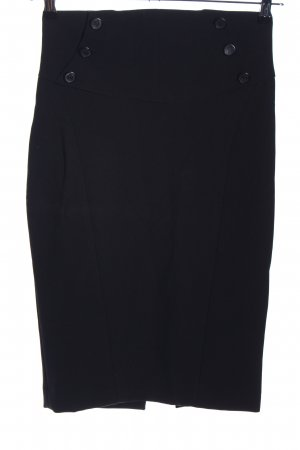 Zara Basic Bleistiftrock schwarz Business-Look