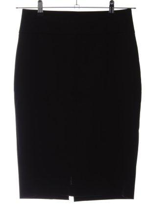 Zara Basic Bleistiftrock schwarz Business-Look