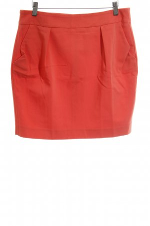 Zara Basic Bleistiftrock neonorange Business-Look