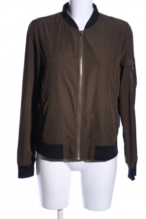 Zara Basic Blouson braun Casual-Look
