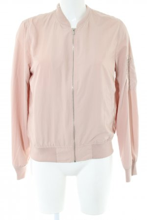 Zara Basic Blouson creme Casual-Look