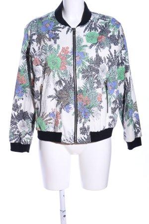 Zara Basic Blouson Allover-Druck Casual-Look