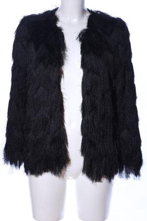 Zara Basic Blouson noir style décontracté