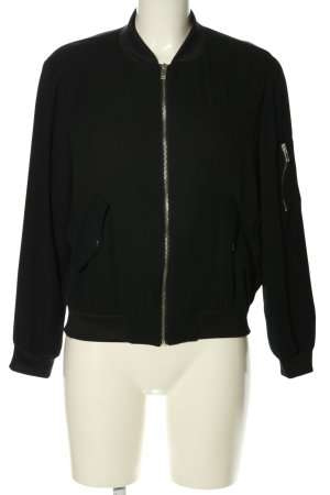 Zara Basic Blouson black casual look