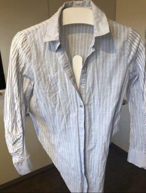 Zara Basic Bluse Langarm mit Knöpfen