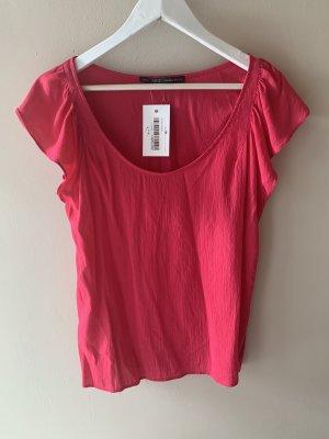 Zara Basic Bluse pink
